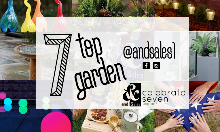 and Sales Top seven garden trends of 2017