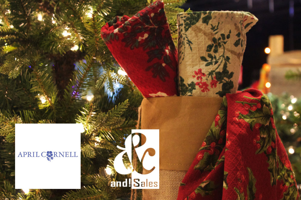 and! Sales April Cornell Stocking Stuffers