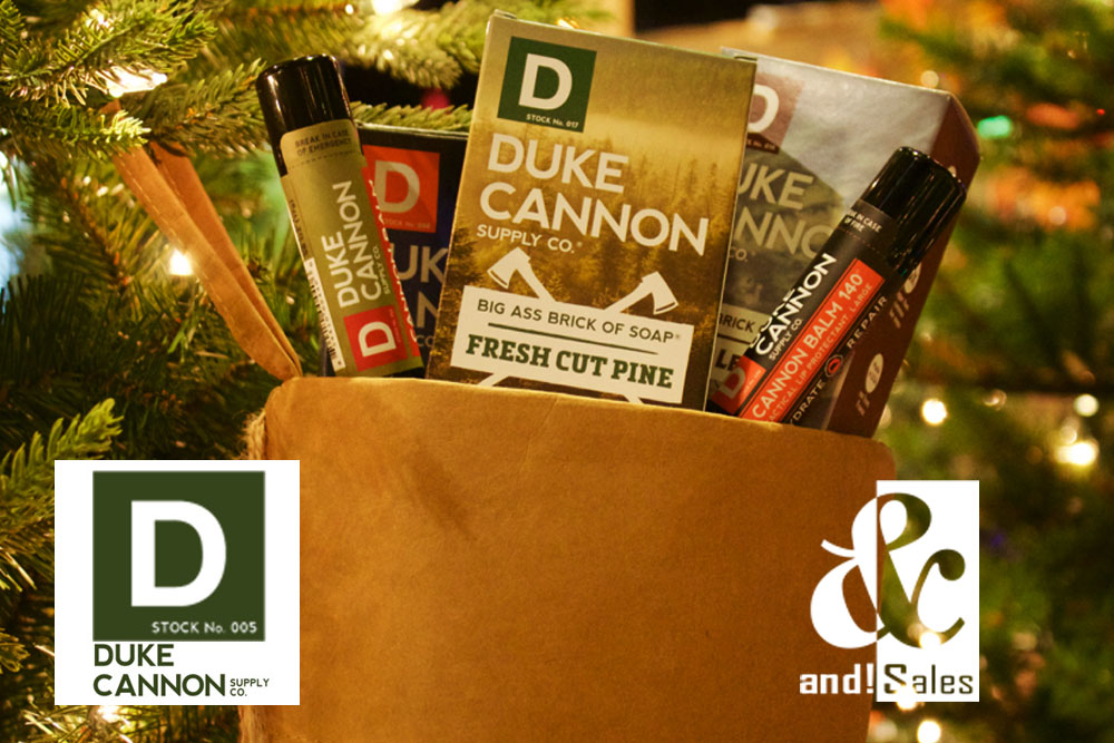 and! Sales Duke Cannon Stocking Stuffers