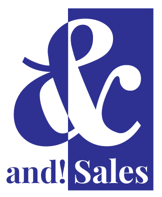 and! Sales Logo
