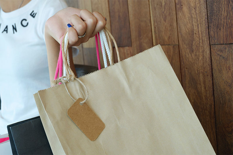 Grand Re-opening Shopping Bags