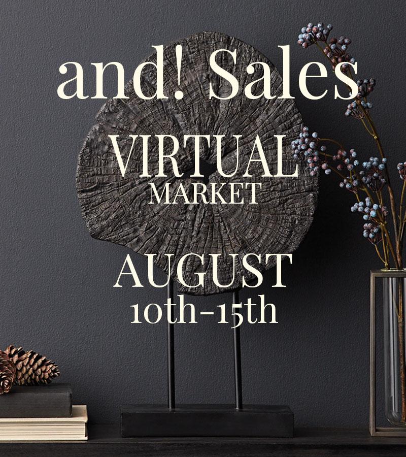 and! Sales Virtual Market Summer 2020