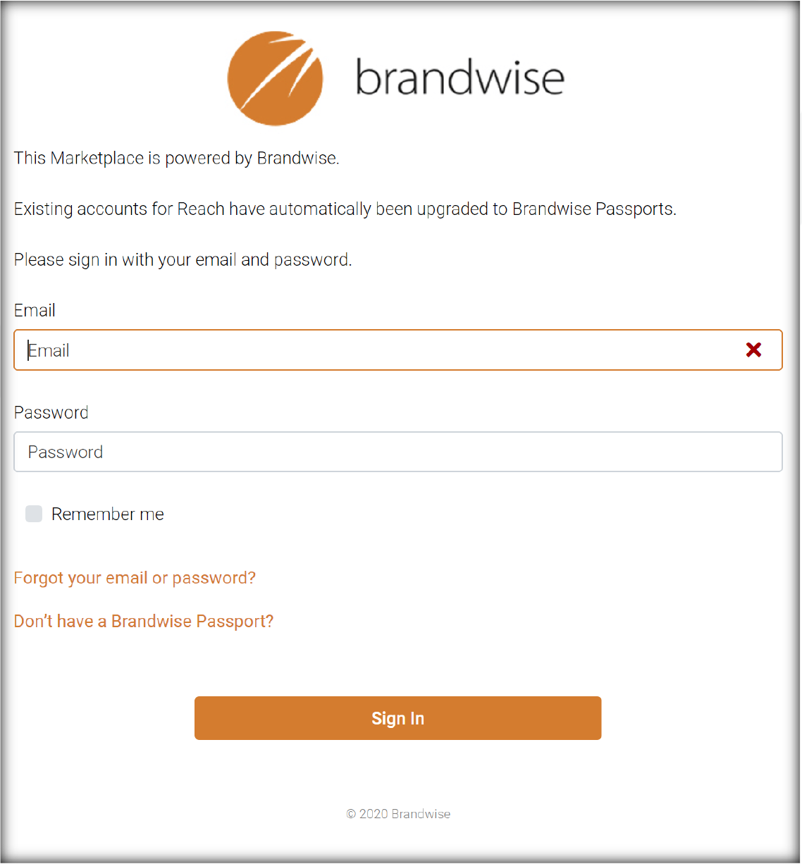 and! Sales Brandwise Passport Step by Step 1