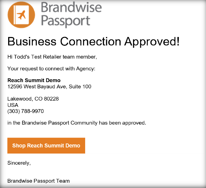 and! Sales Brandwise Passport Step by Step 11