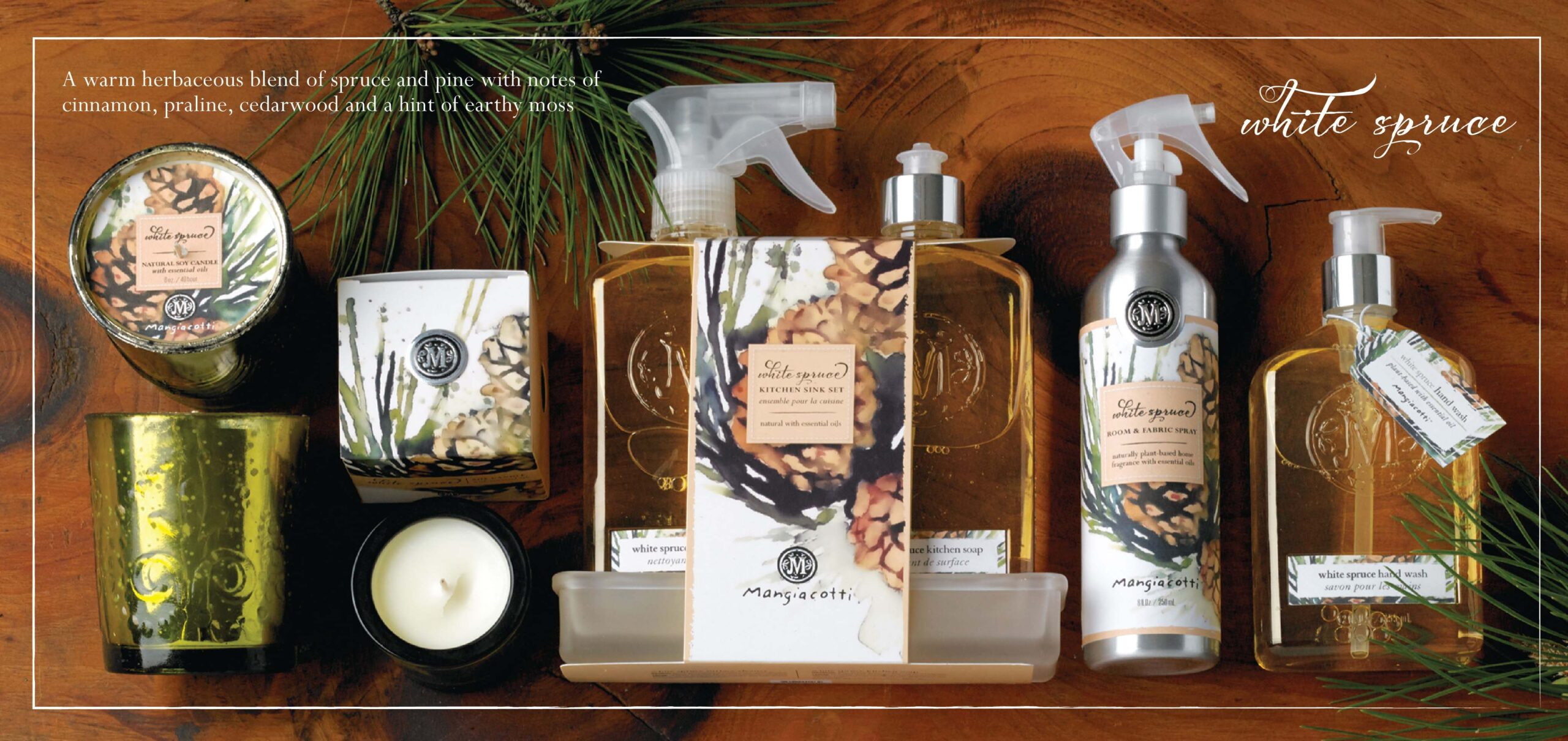 Mangiacotti White Spruce Collection